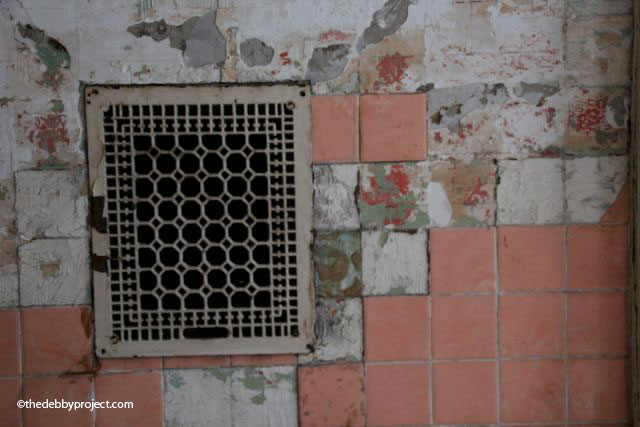 One of the many grates. Not all were the same pattern.